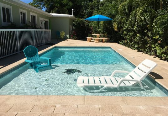 pool home located in islamorada florida keys