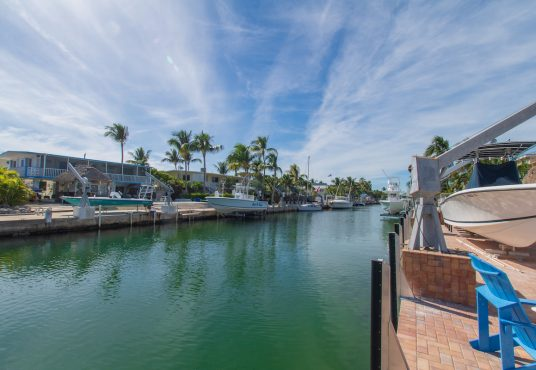 islamorada vacation rental home on canal with direct ocean access boat dock