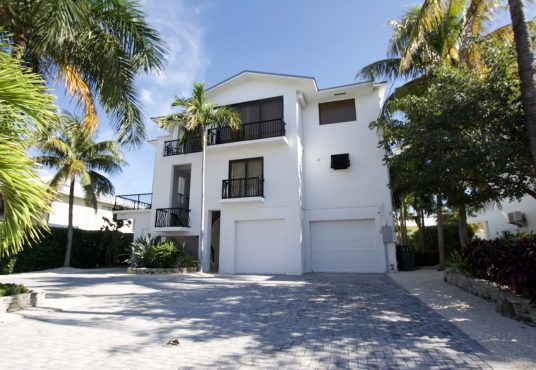modern three story vacation rental home located in islamorada florida keys