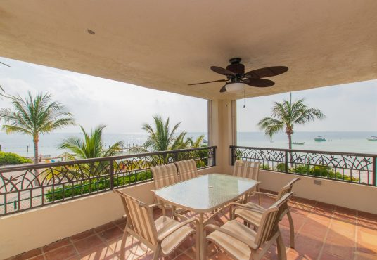 enjoy sunset views from the large veranda at sandy point townhome vacation rental in the florida keys